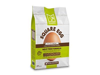 Square Egg Dog Food