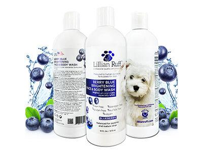Berry Blue Brightening Face & Body Wash