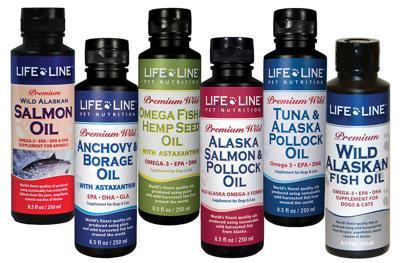 Life Line Pet Nutrition, fish oils