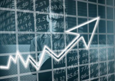 Pixabay, financial uptick arrow