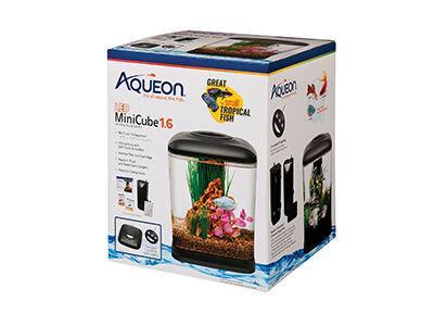 Aqueon MiniCube 1.6 LED Desktop Aquarium Kit