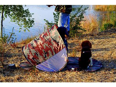 ShadyPaws Portable Dog Shade Protection Tent
