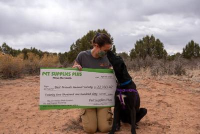 Pet Supplies Plus donation Best Friends
