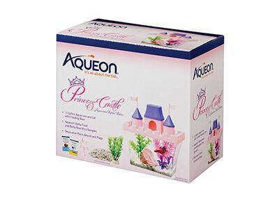 Aqueon Princess Castle Desktop Kit
