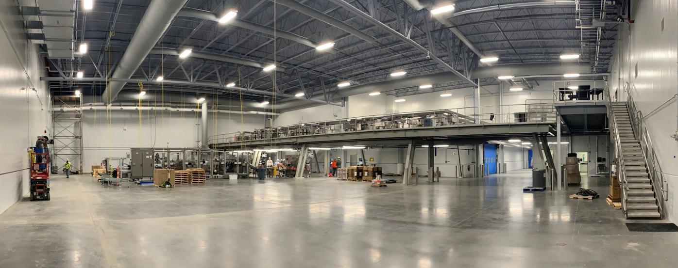 Tuffy's Treat Co new facility inside