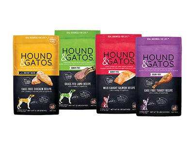 Hound & Gatos Natural Dry Food for Dogs and Cats