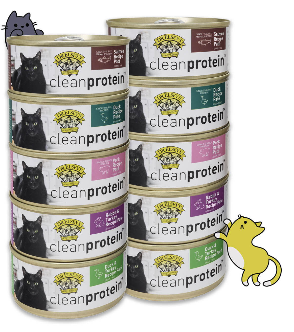 Dr. Elsey's Cat Products Cleanprotein Pâté in new recipes