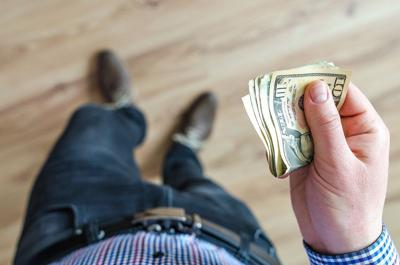 Pixabay, man holding money