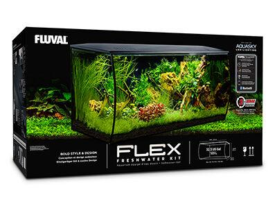 Fluval Flex 32.5 US Gallon (123 L) Aquarium