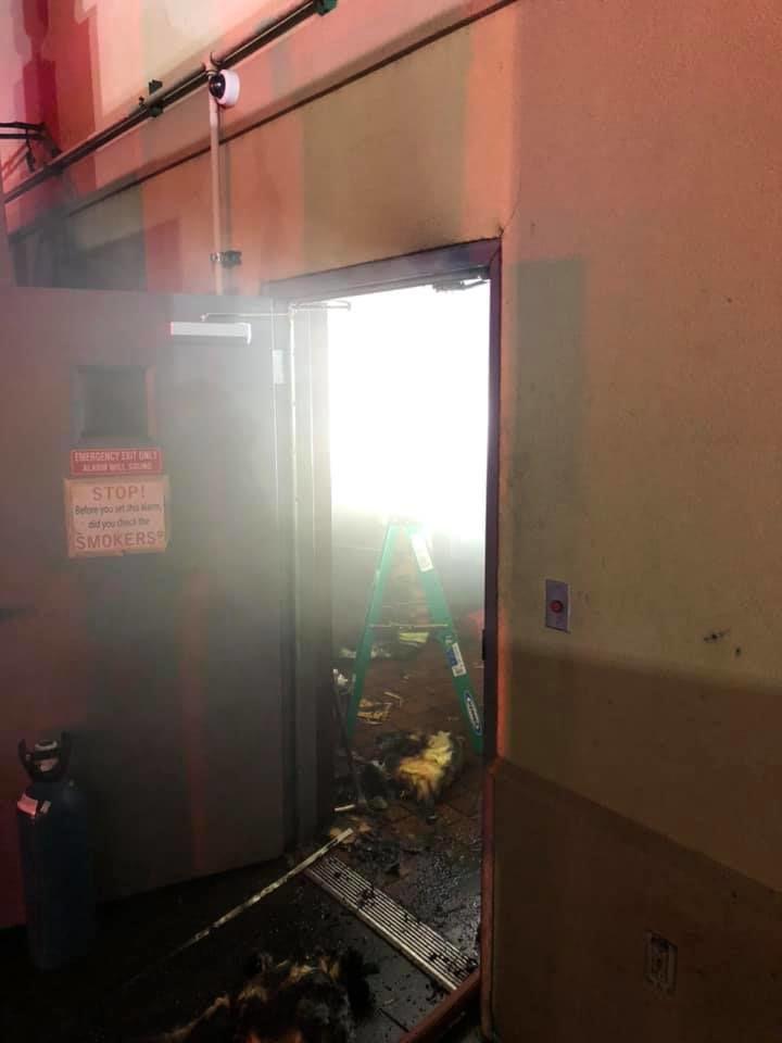 Bandana's fire Jan. 8, 2020