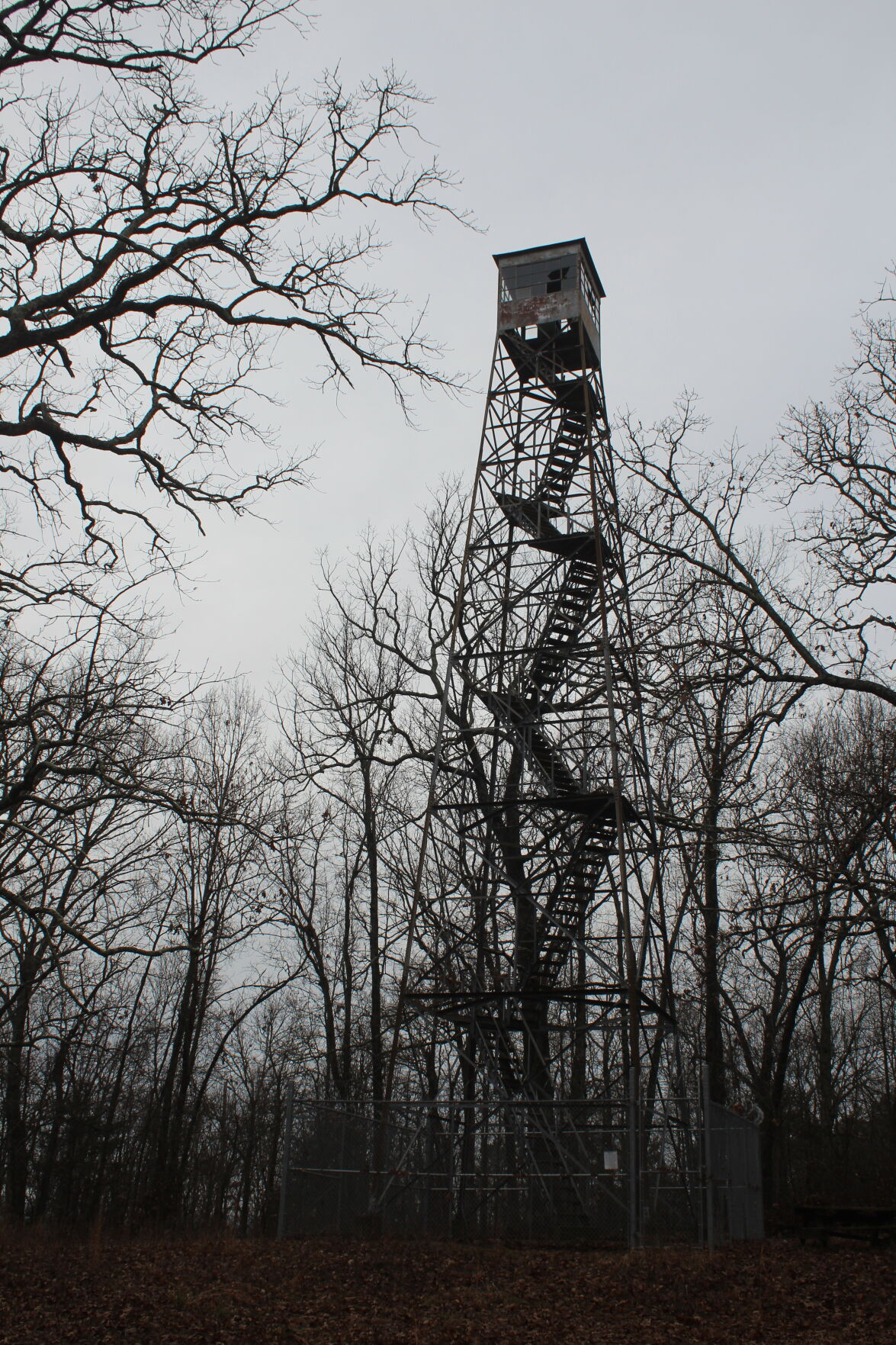 Pilot Knob Lookout Tower