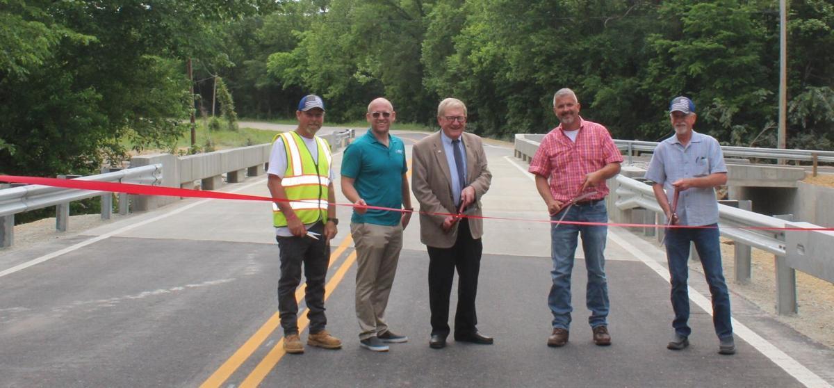 Martin Springs Drive Bridge opening
