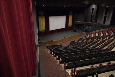 The interior of Leach Theatre.