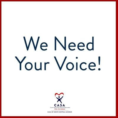 CASA We May Need Your Voice