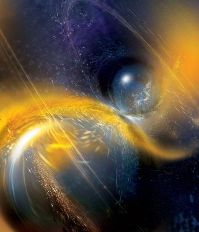 Neutron star collison