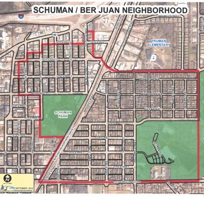 Schuman/Ber Juan neighborhood area