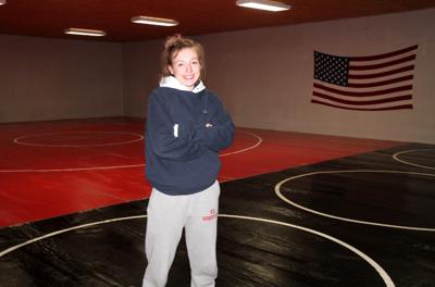 St. James all-state senior wrestler Kaylynn Crocker