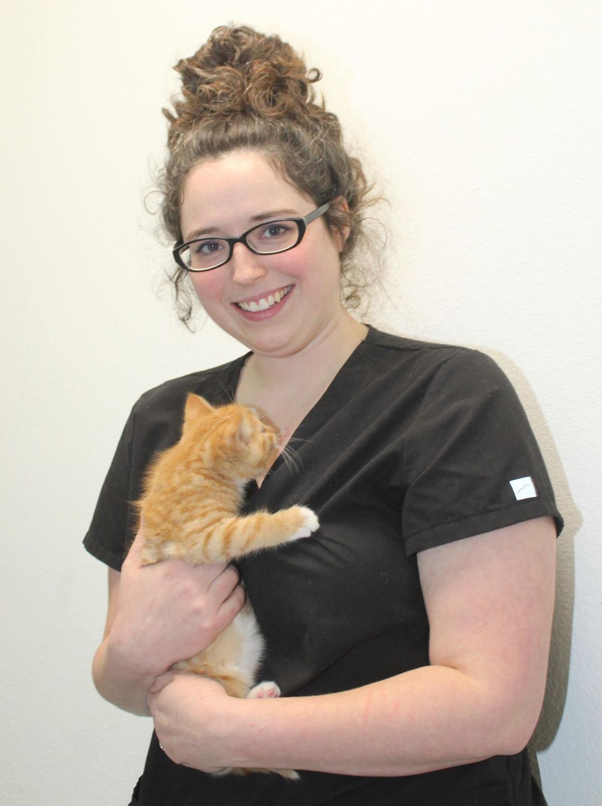 Veterinarian Dr. Jessie Melton
