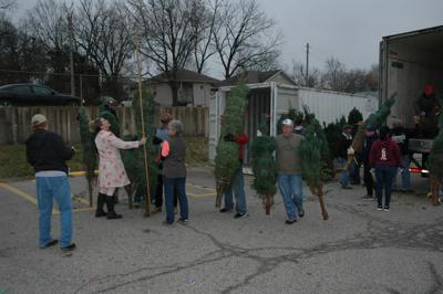 Optimist Club Christmas Tree Sale