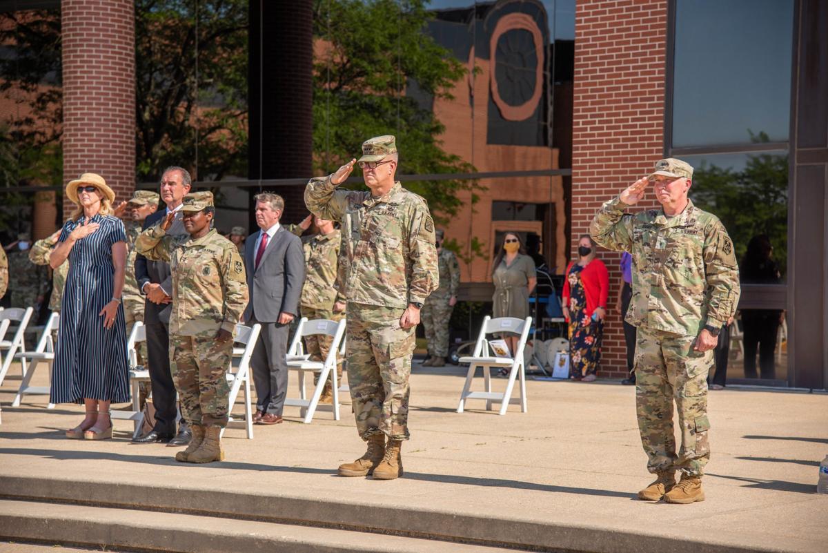 Fort Leonard Wood change of command