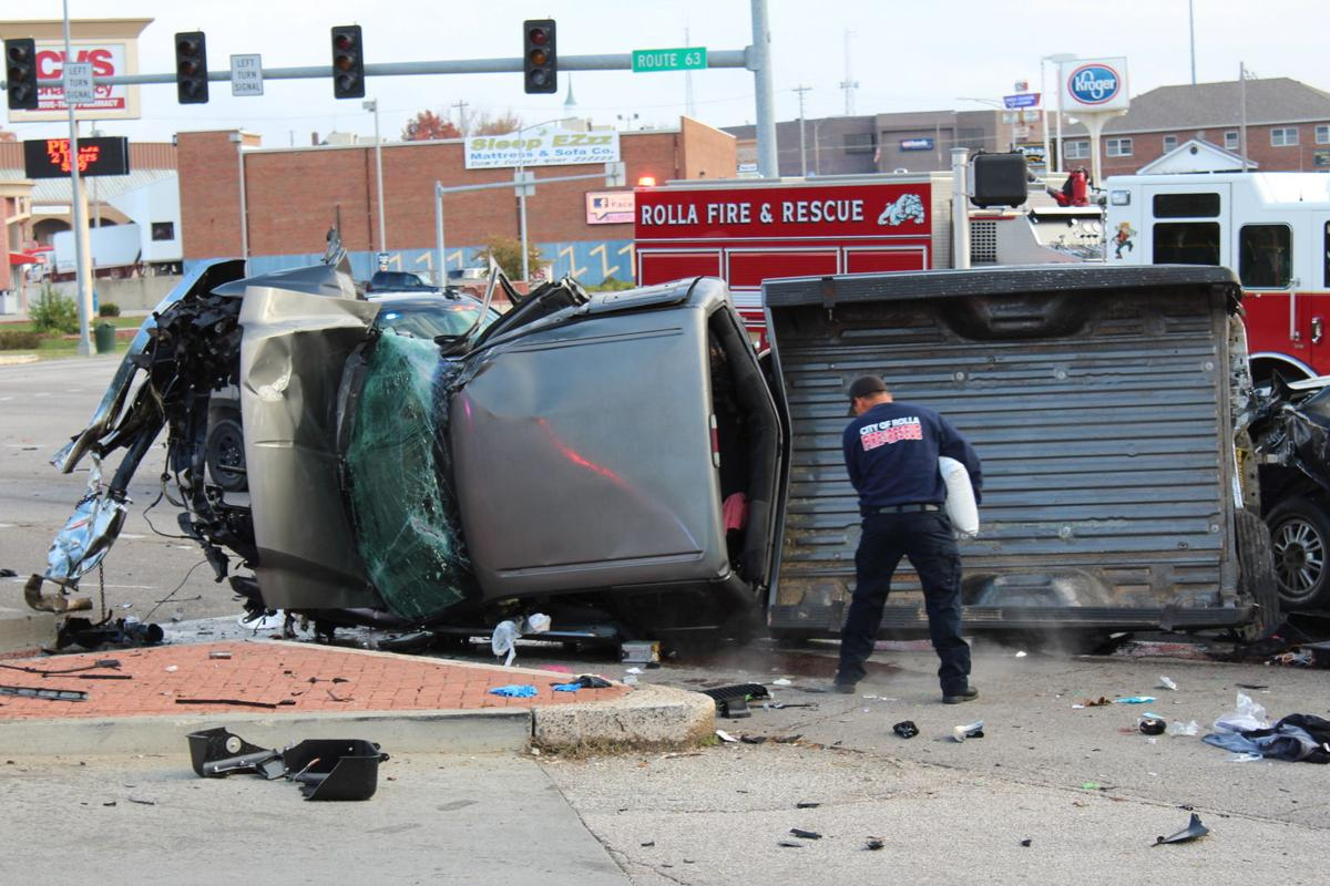 UPDATE: Large crash caused by fleeing suspect, incident under