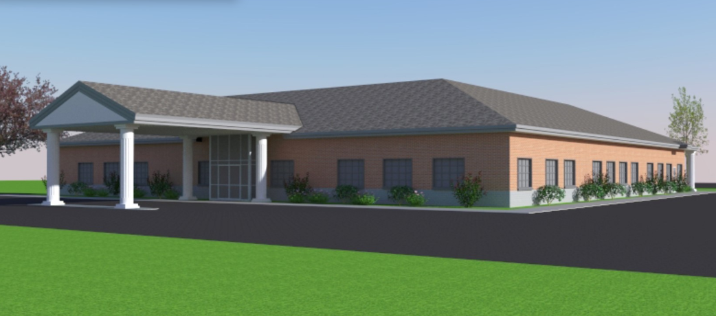 Senior Center Rending - North Side
