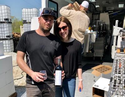 Spencer Manor Winery founders Chris and Kelly Spencer