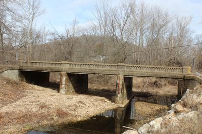 bridge over Little Beaver Creek on Martin Springs Drive