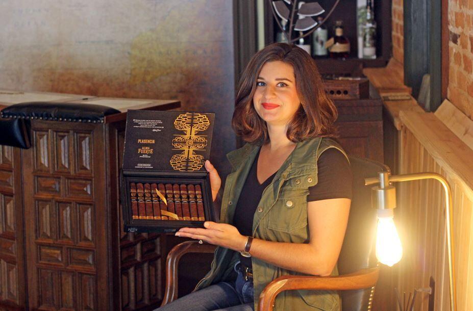 Julia Brunk Co-Creator of LEATHERWOOD Handmade Cigars