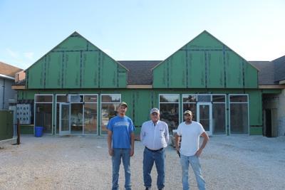Shane Dailey, Jim Larson and John Warren