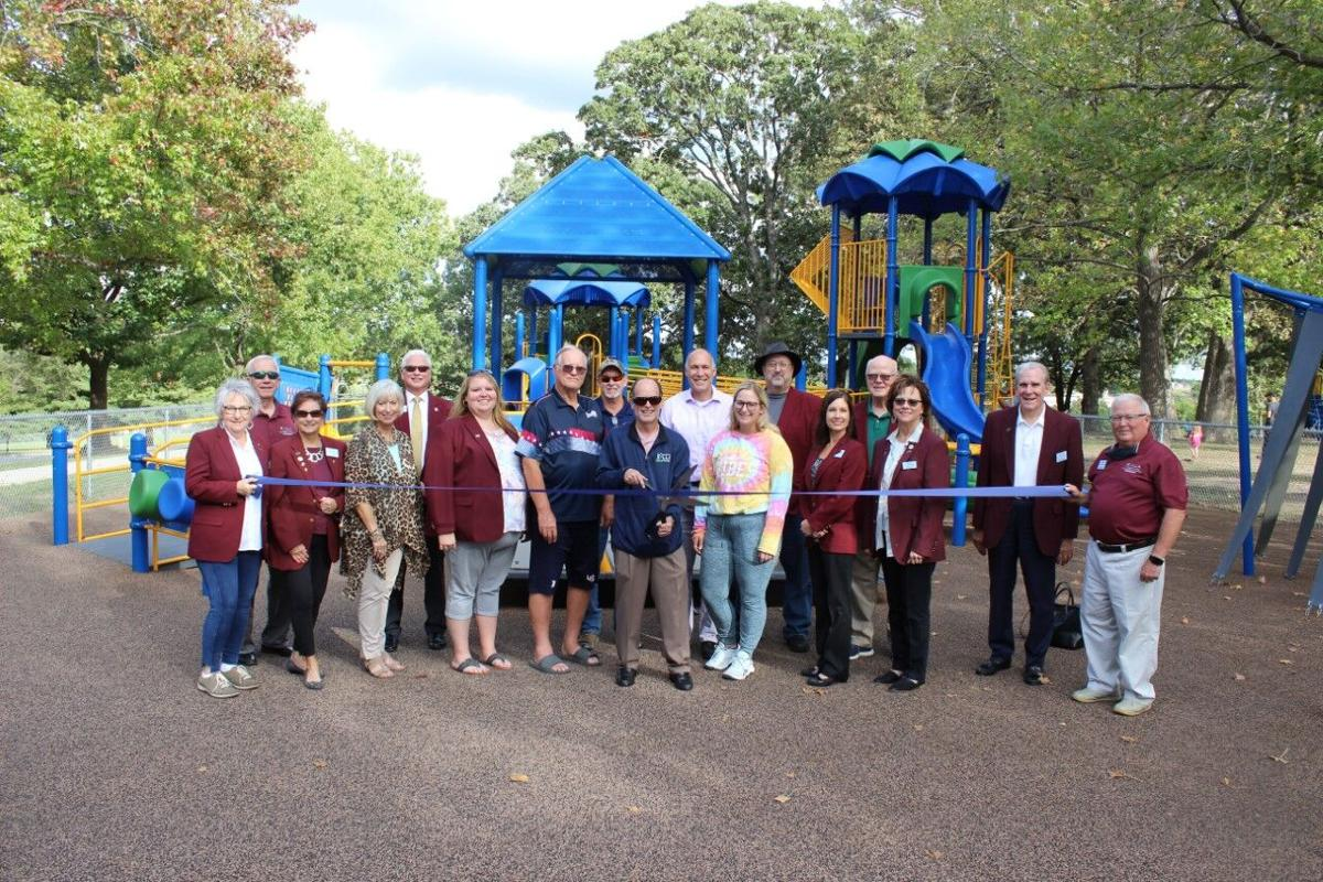 all-inclusive playground ribbon cutting
