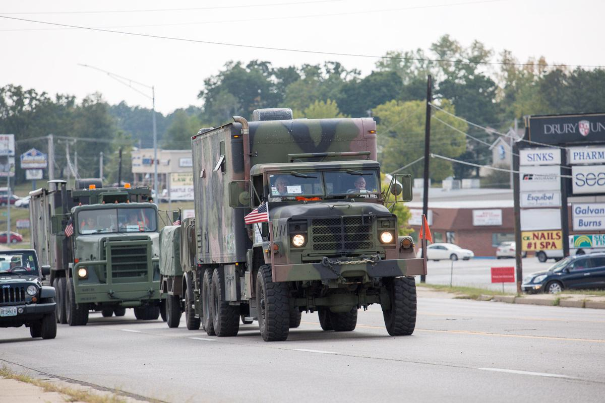 SLIDESHOW: Military Vehicle Preservation Association's historic Route 66 convoy
