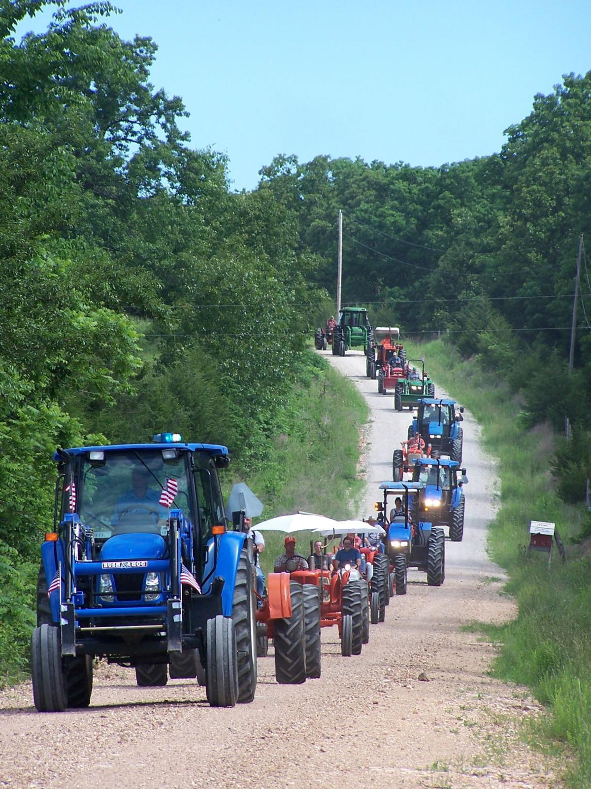 Leroy Tipton Memorial Tractor Cruise