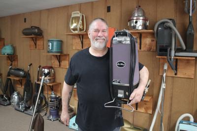 Museum of Vacuums Curator Tom Gasko