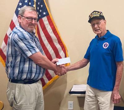 Veterans donation