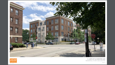 Image: 48th and Chester development is test case for affordable housing units