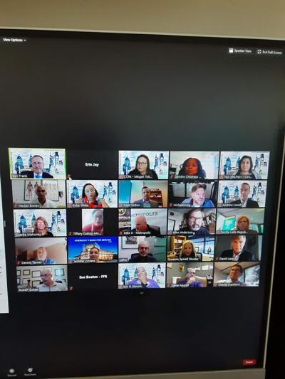 Image:Last Wednesday, Center City Proprietors Association (CCPA) held a virtual membership meeting with a presentation by Paul Levy, President and CEO of Center City District.