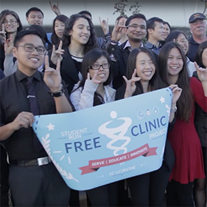 Med Students Gain Experience While Operating Free Healthcare