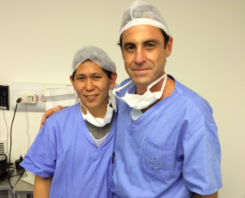 Dr. David Chen and Dr. Sergio Roll