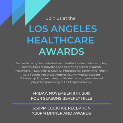 2019 LA Healthcare Awards