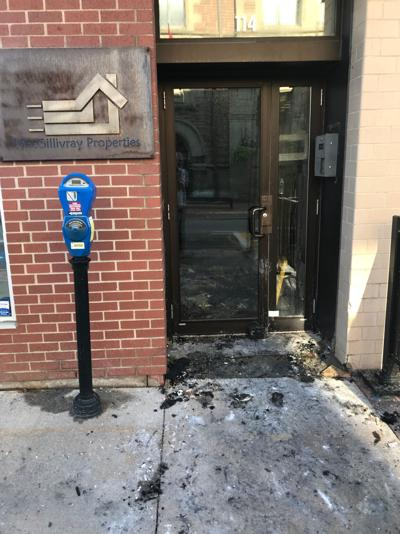 Residents homeless after downtown fire