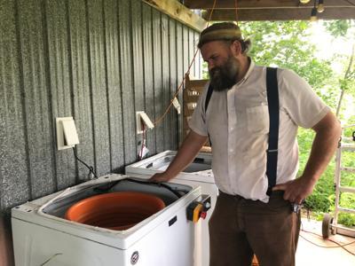 Small Holdings Farm spinner