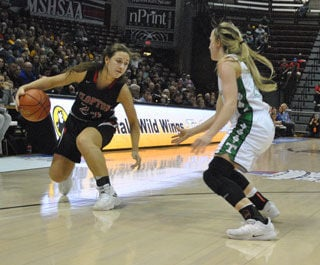 Lady Hawks fall in state semifinals; set to play for third