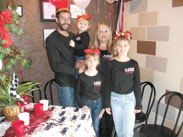 Jason DeCamp and family