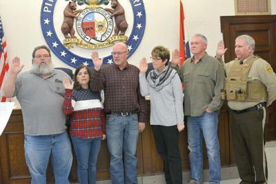 New elected Pike County officials