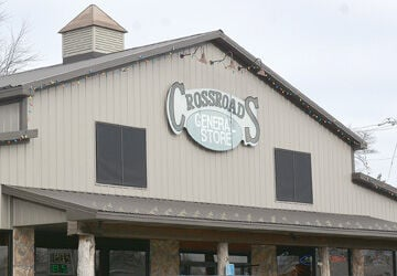 Crossroads General Store sign