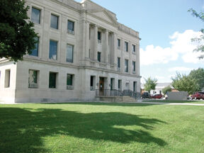 East side of courthouse