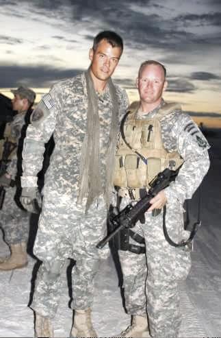 Greg with Josh