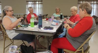 Knitting and Stiching Group photo September 2019