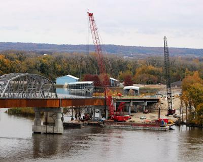 Flooding update: Route 54 to close at Champ Clark Bridge
